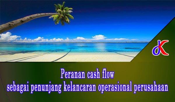 Peranan cash flow sebagai penunjang kelancaran operasional perusahaan