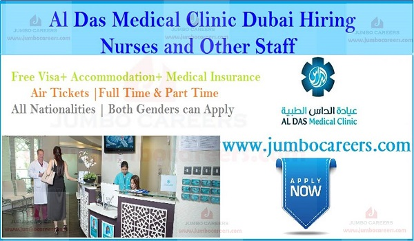 Dubai part time job vacancies, Nursing jobs with accommodation,
