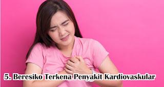 Beresiko Terkena Penyakit Kardiovaskular akibat sering rebahan