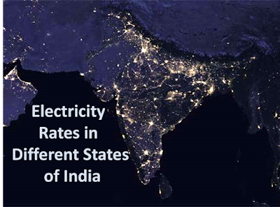 Download Latest Electricity Tariff Rates of Different States in India