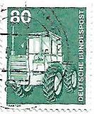 Selo Trator agrícola