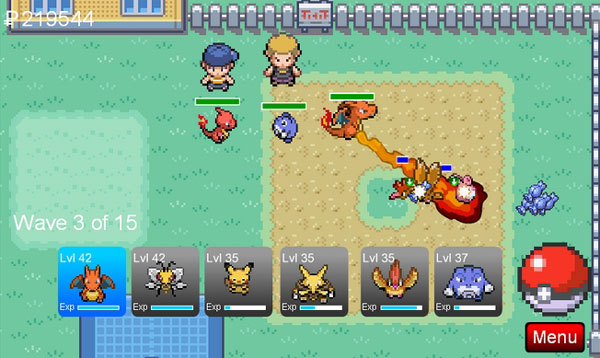 Free pokemon games for android you must download on your phone.