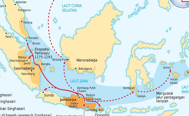 sejarah-Ekspedisi-Pamalayu-Kawasan-Kerajaan-Melayu
