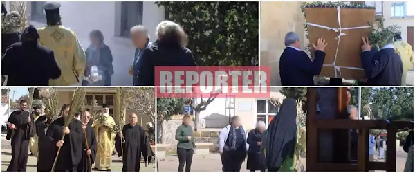Κύπρος: Έσπασε την καραντίνα ο Μόρφου Νεόφυτος – Αρνήθηκαν να αποχωρήσουν οι πιστοί – Εξώδικα από την Αστυνομία