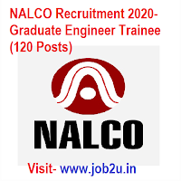 NALCO Recruitment 2020, Graduate Engineer Trainee (120 Posts)