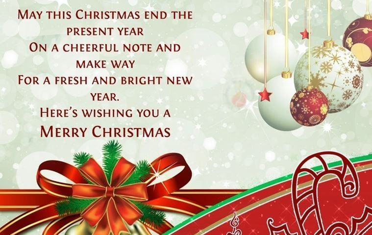 Latest Best Short Christmas Message for Love and Family