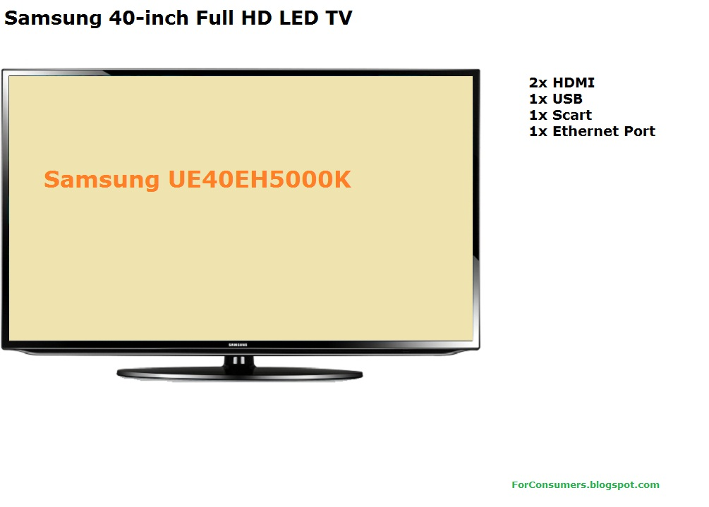 samsung 40 inch full hd led tv review test and review. Black Bedroom Furniture Sets. Home Design Ideas