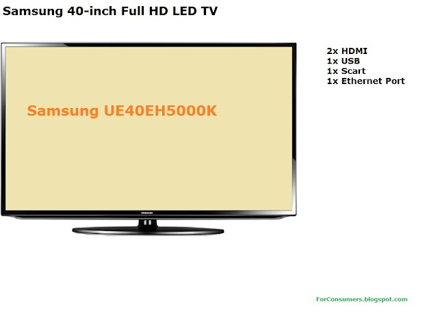 Samsung 40-inch Full HD LED TV review