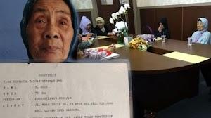 Nenek 78 tahun asal Bandung digugat 1,6 miliar oleh ke empat anak kandung nya