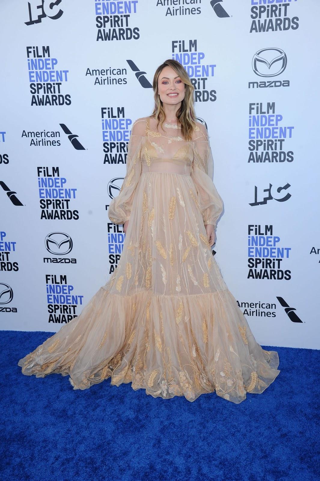 Olivia Wilde In Fendi Couture – 2020 Film Independent Spirit Awards
