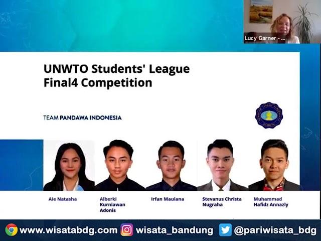 5 Mahasiswa STP Bandung Paparkan Rencana Pariwisata Berkelanjutan di UNWTO Students' League