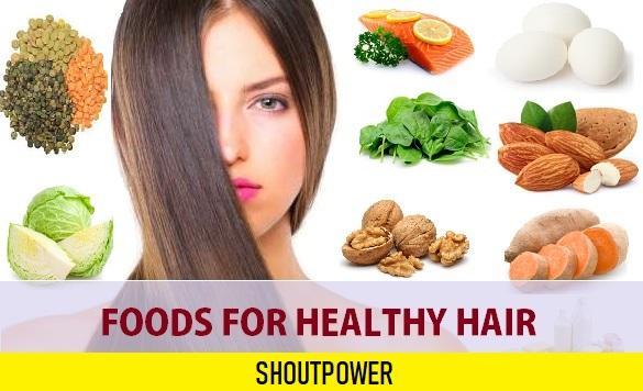 10 Foods for Healthy Hair, Hair Loss and Hair Growth
