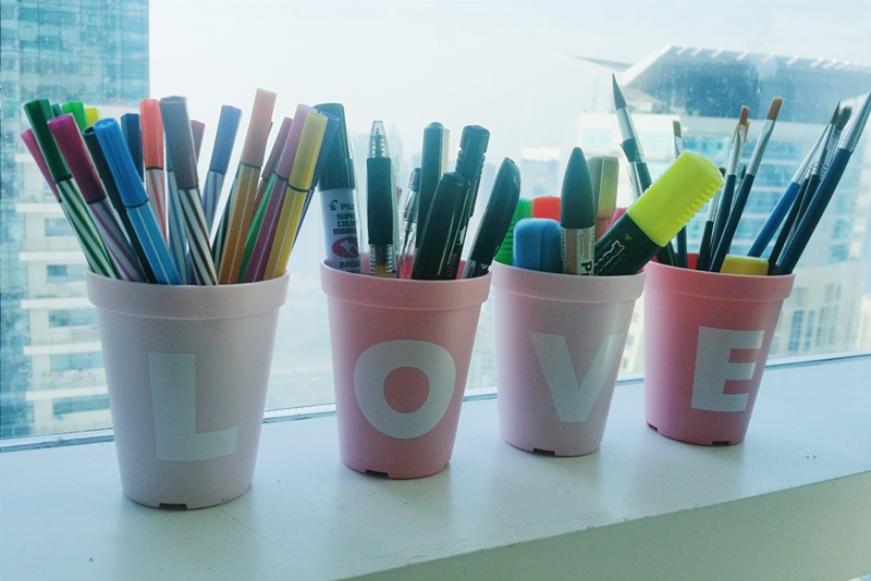 Miniso Love Cans or Pot