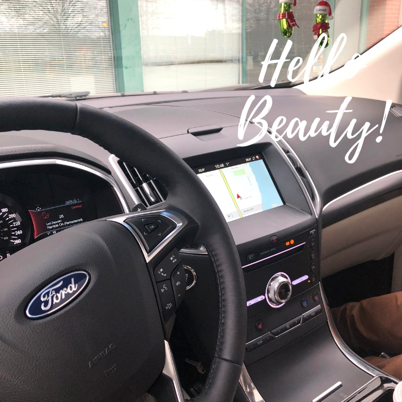 2019 ford edge review interior