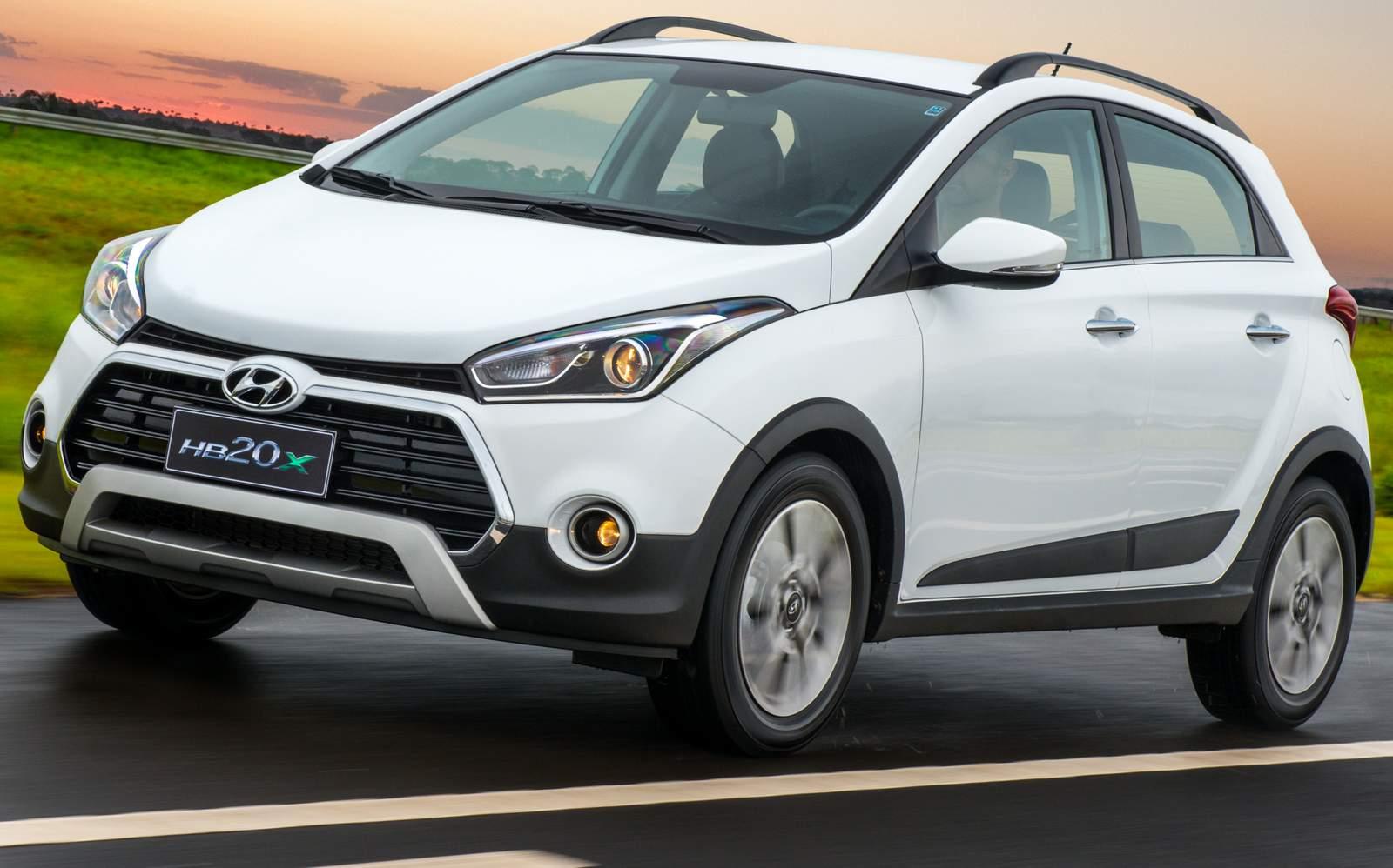 Hyundai HB20X 2017 - Preço