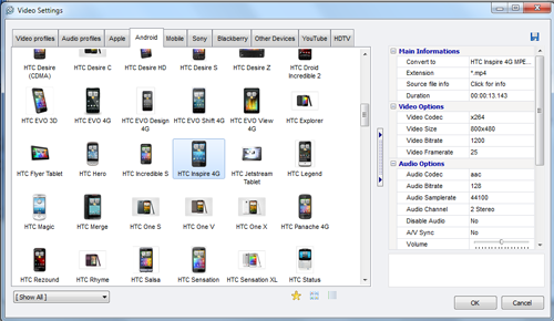 Video to Video Converter 2.9.6.10