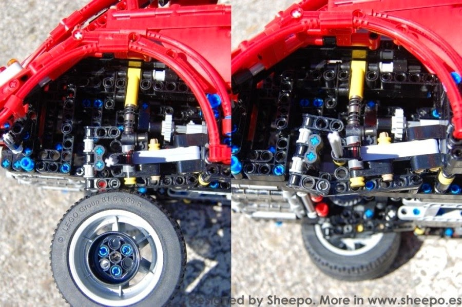 Volkswagen Beetle Type 1 Lego Technic And Model Team