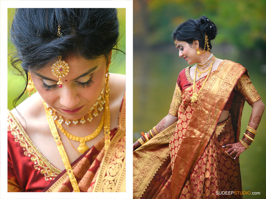 Indian Wedding Photography Marathi Bridal Dress by SudeepStudio.com Ann Arbor South Asian Indian Wedding Photographer