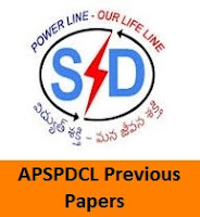 APSPDCL Previous Papers