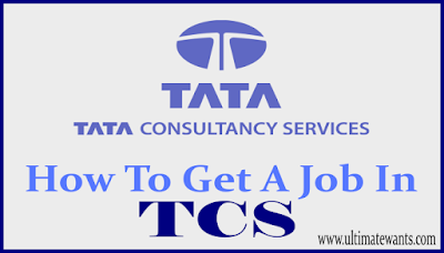 How to get a job in TCS