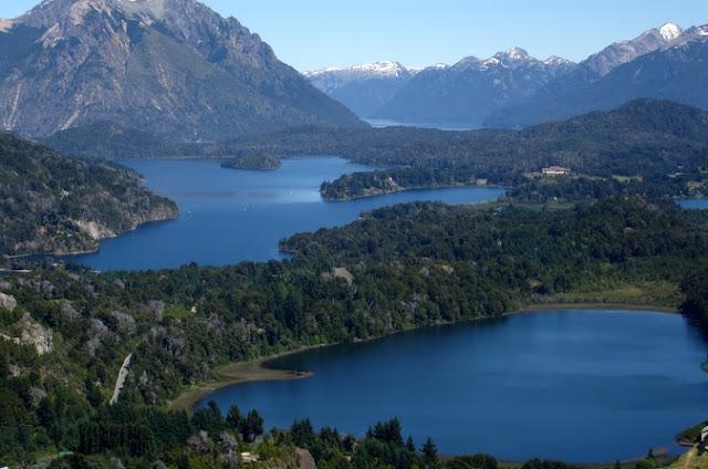 Estrutura do Lago Nahuel Huapi em Bariloche