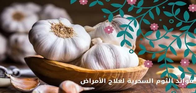 فوائد تناول الثوم السحرية لعلاج الأمراض