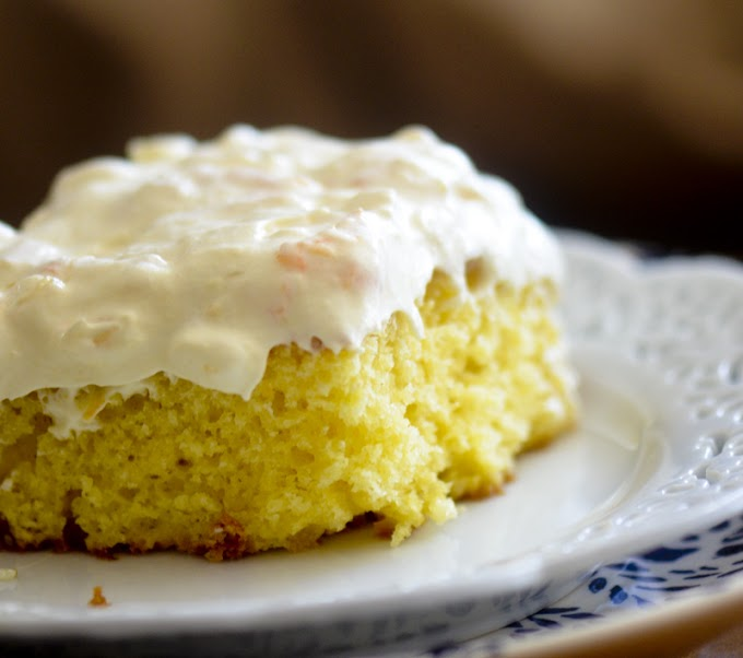 WEIGHT WATCHER'S SUNSHINE CAKE #dessert #cheesecake