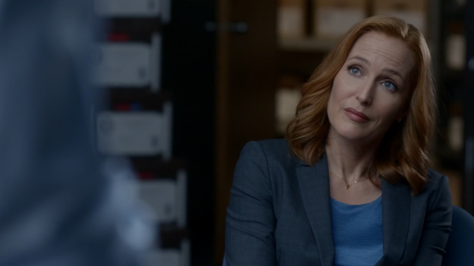 scully and mulder meet