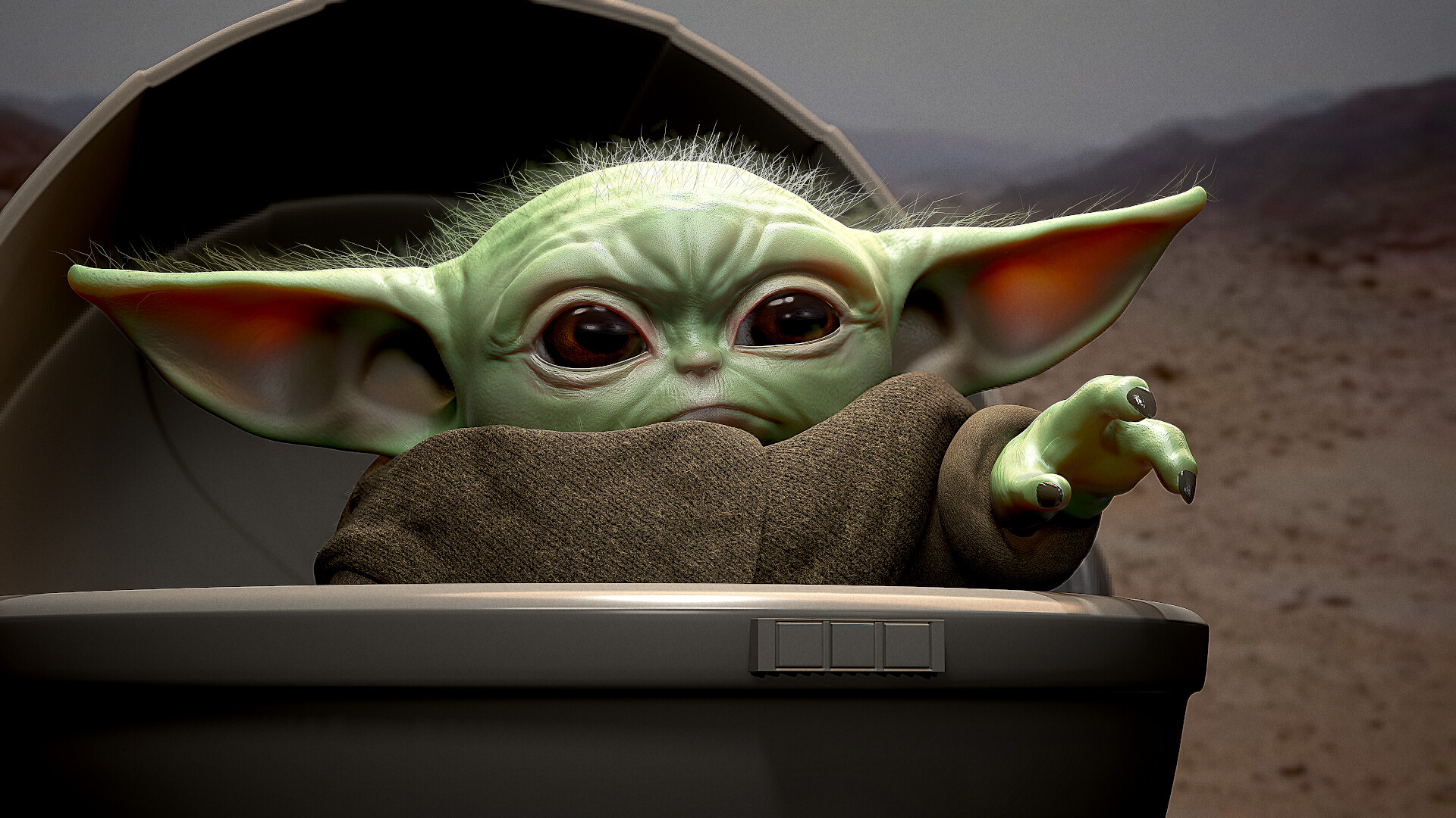 Desktop wallpaper - Baby Yoda | HeroScreen