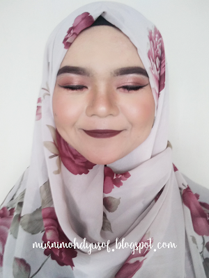 Maroon Smokey Eye makeupbymurnimy
