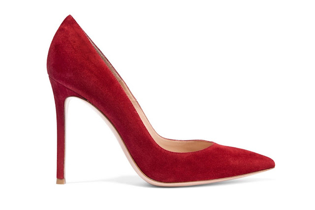 the suede red shoes kate middleton wore