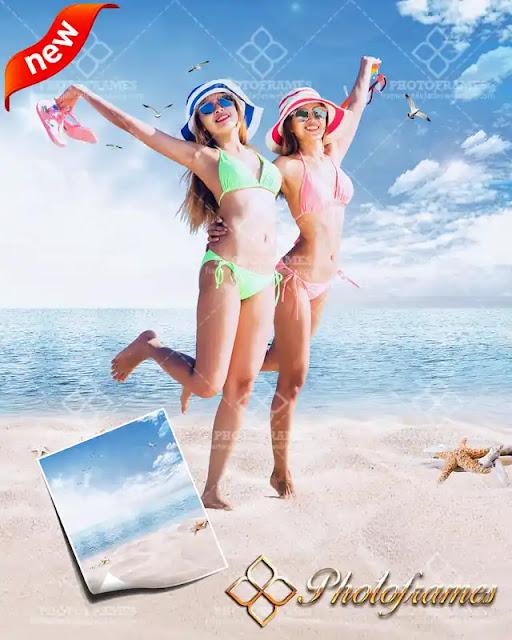 Fondo de playa para fotos de toda ocasión