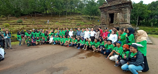 Siap Darling Djarum Foundation Candi Gedongsongo