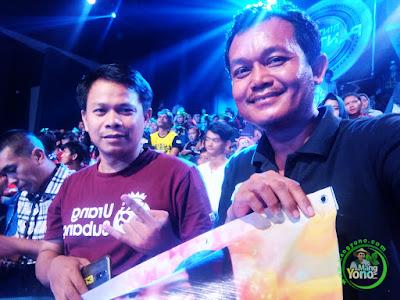 Mang Yono di Studio 5 Indosiar   dukungan untuk Putri Jamila Subang, babak 4 Besar