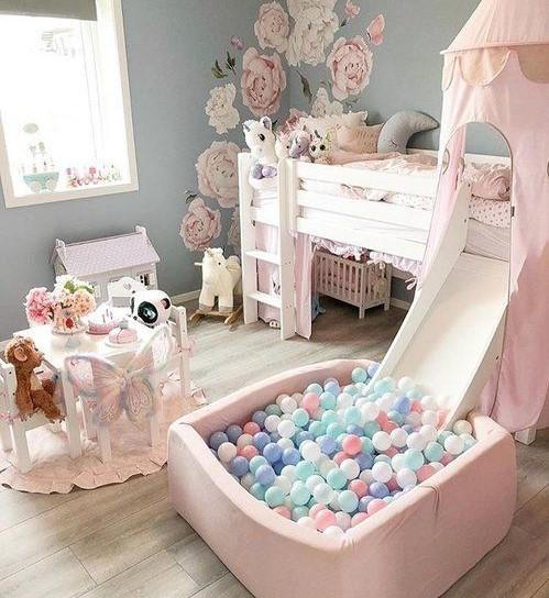 Desain Kamar Tidur Anak Perempuan yang Mewah Terbaru