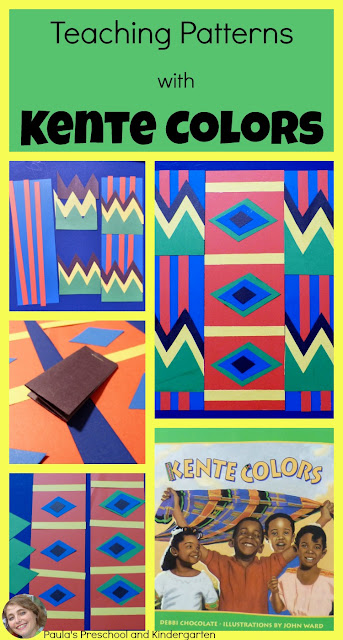 See how I teach complex patterns with the beautiful book, Kente Colors