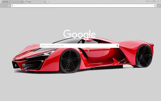 Ferrari Enzo Google Theme
