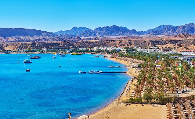 Desierto resplandeciente Peninsula Sinai