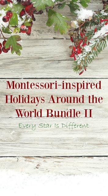 Montessori-inspired Holidays Around the World Bundle II