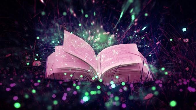 Papel de Parede Livro Mágico