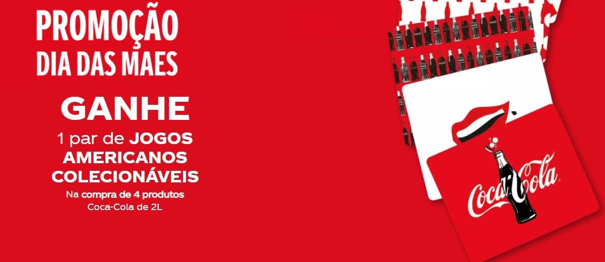 Ganhe Par Jogos Americanos Promoção Coca-Cola Dia das Mães