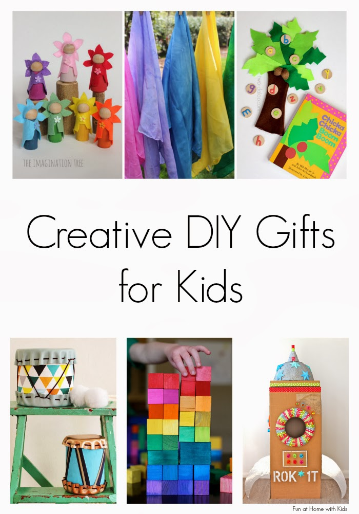 Creative diy gifts for kids for Easy diy gifts for boys