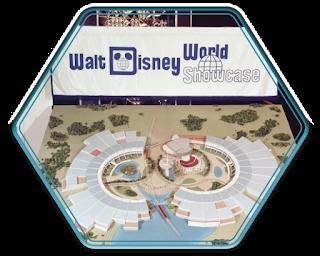 World Showcase on the Seven Seas Lagoon Disney World Epcot Concept Art