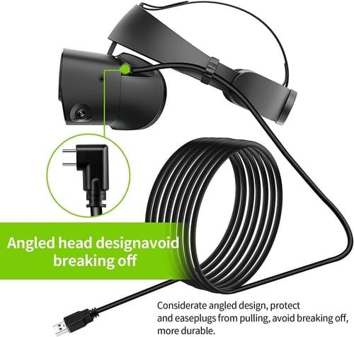 Herfair Oculus Quest 2 USB C VR Link Cable