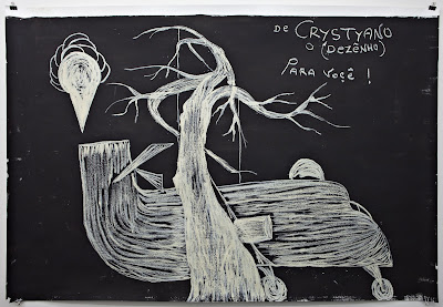 Jesuys Crystiano, untitled, undated, mixed media on paper, 150 x 219,5 cm