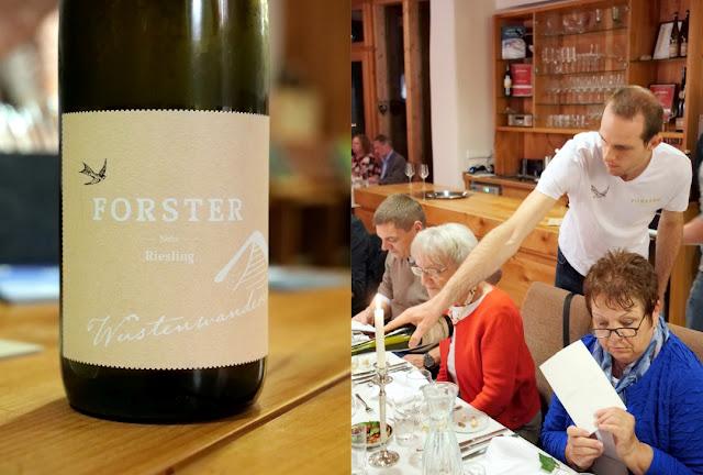 Riesling Wüstenwanderer aus dem Bio-Weingut Forster an der Nahe.
