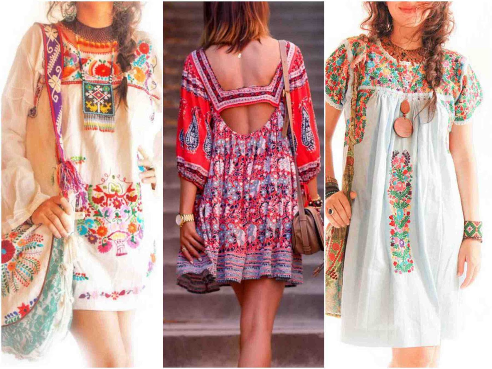 The Bohemian Clothing Most Crafty Its Look Combines Ethnic And Romance