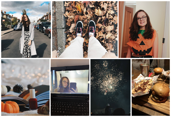 A lifestyle roundup of my week at university featuring all I've bought, watched, eaten, seen and been up to. Featuring halloween, the best burger I've ever had and a trip to see the fireworks