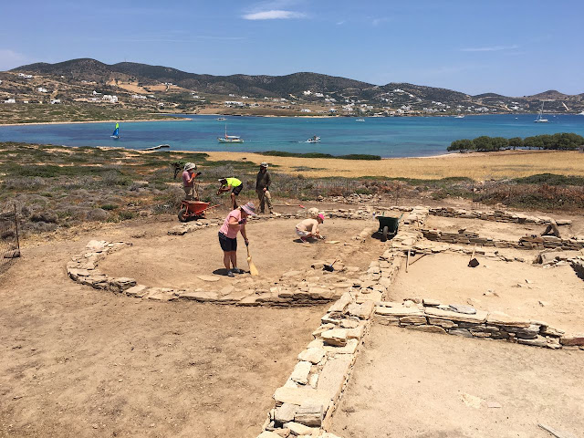 New finds unveiled on Despotiko island in Greece