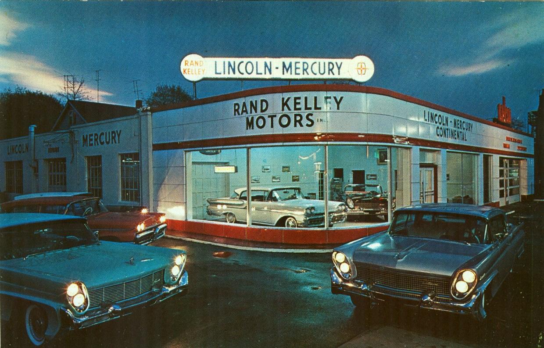 Speedboys Vintage Postcard Car Dealer
